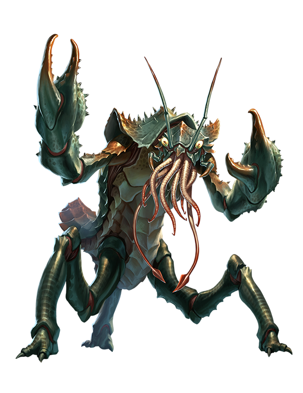 Chuul - Monsters - Archives of Nethys: Pathfinder 2nd Edition Database