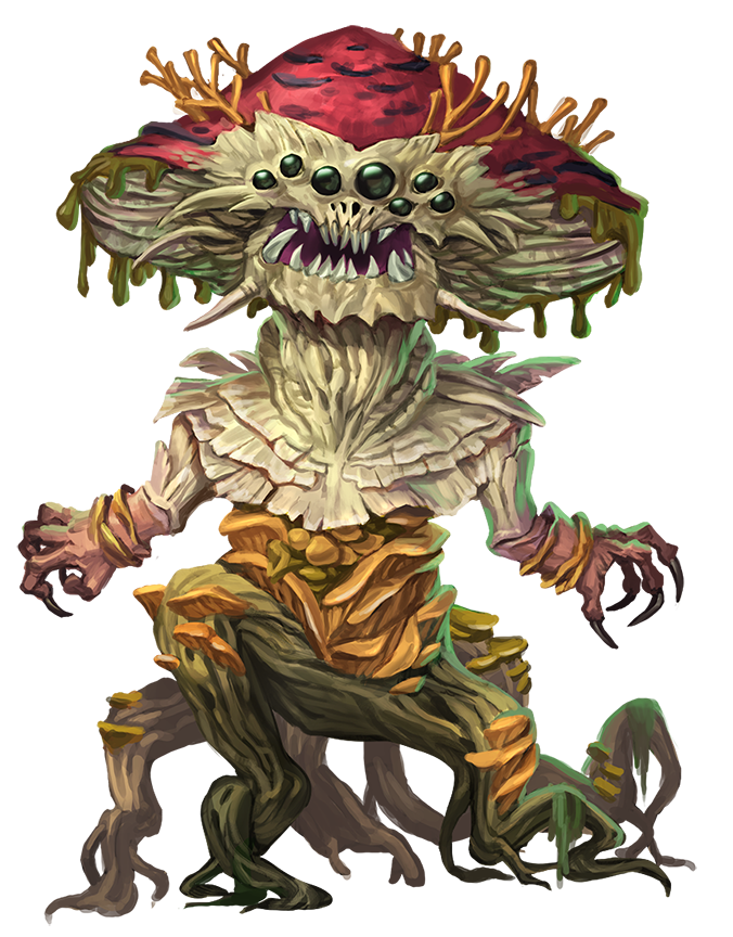 Fungus Leshy - Monsters - Archives of Nethys: Pathfinder 2nd