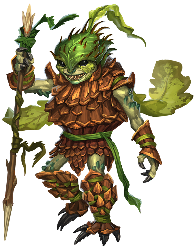 Leaf Leshy - Monsters - Archives of Nethys: Pathfinder 2nd